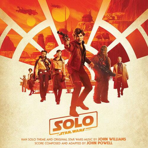 【メール便送料無料】John Powell (Soundtrack) / Solo: A Star Wars Story (輸入盤CD)【K2018/5/25発売】(ハン・ソロ/スター・ウォーズ・ストーリー)