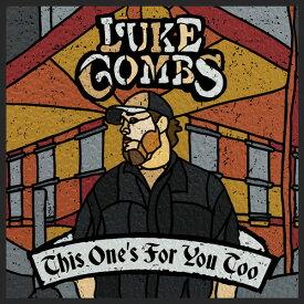 【メール便送料無料】Luke Combs / This Ones For You Too (Deluxe Edition) (輸入盤CD)【K2018/6/1発売】(ルーク・コムズ)