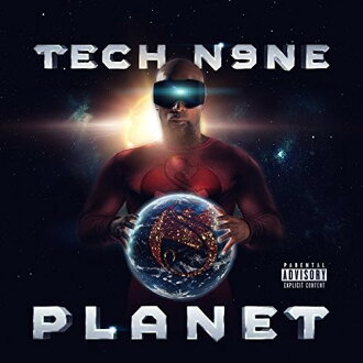 Tech N9ne / Planet (Deluxe Edition) (import board CD) (technical center nine)