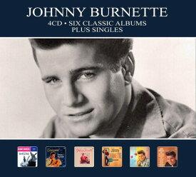 【輸入盤CD】Johnny Burnette / Six Classic Albums Plus Singles (Digipak)【K2019/9/6発売】(ジョニー・バーネット)