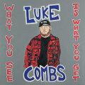 【輸入盤CD】【ネコポス100円】LukeCombs/WhatYouSeeIsWhatYouGet【K2019/11/8発売】(ルーク・コムズ)