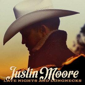 【輸入盤CD】【ネコポス送料無料】Justin Moore / Late Nights And Longnecks【K2019/7/26発売】(ジャスティン・ムーア)