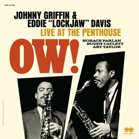 【輸入盤CD】Johnny Griffin/Eddie Lockjaw Davis / Ow! Live At The Penthouse【K2019/12/6発売】(ジョニー・グリフィン)