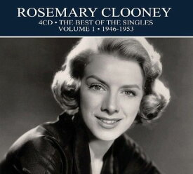 【輸入盤CD】Rosemary Clooney / Best Of The Singles 1946-1953 【K2019/3/29発売】(ローズマリー・クルーニー)