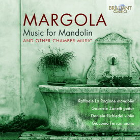 【輸入盤CD】Margola/Ragione/Ferrari / Music For Mandolin【K2020/1/3発売】
