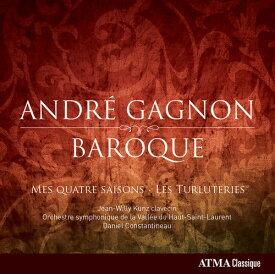 【輸入盤CD】Gagnon/Kunz/Orchestre Symphonique De La Valle / Baroque