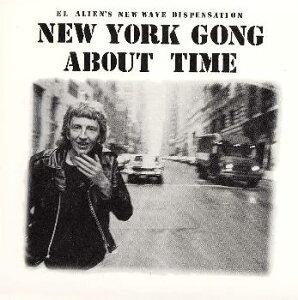 【国内盤CD】【ネコポス送料無料】ニューヨーク・ゴング / アバウト・タイム[初回出荷限定盤]