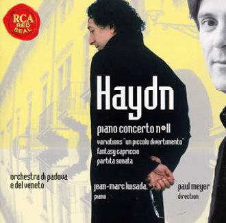 海頓:鋼琴協奏曲/行板和變奏曲其他ruisada(P)meie/padova·貝尼特po.[CD]