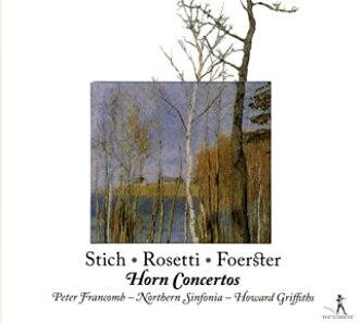 在18世紀捷克·角笛藝術的黄金時代~punto,福斯特,rozettifurankoumu(HR)格裏菲思/諾森·SINFONIA[CD]