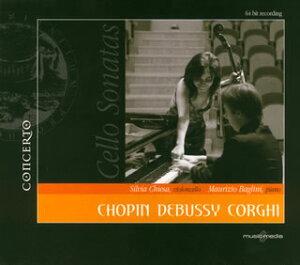 【国内盤CD】【ネコポス送料無料】イタリアのチェロ,イタリアのピアノ〜ショパン,ドビュッシー,コルギ キエーザ(VC) バリーニ(P)