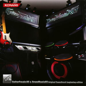【国内盤CD】「GuitarFreaksXG&DrumManiaXG」Original Soundtrack beginning edition