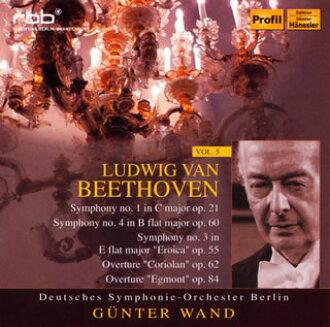 Beethoven:교향곡 제 1번・ 제4번・ 제3번 「영웅」외 바트/베를린・독일 so. [CD][2 매 셋트]