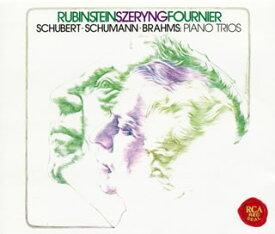 【国内盤CD】【ネコポス送料無料】シューベルト,シューマン&ブラームス:ピアノ三重奏曲集 ルービンシュタイン(P) シェリング(VN) フルニエ(VC)[3枚組]