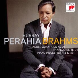 【メール便送料無料】ブラームス:ヘンデルの主題による変奏曲とフーガ / 2つのラプソディ / ピアノ小品集 ペライア(P)[CD]