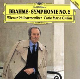 【メール便送料無料】ブラームス:交響曲第2番 ジュリーニ / VPO[CD]【K2019/4/24発売】