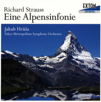 R.스트라우스:알프스 교향곡 op. 64 후르샤/도쿄도 so. [CD]