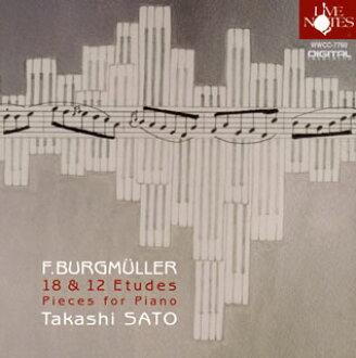 Burgmuller:18.12练习曲其他佐藤卓史(P)[CD]