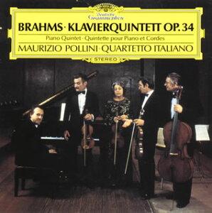 【国内盤CD】【ネコポス100円】 ブラームス:ピアノ五重奏曲 ポリーニ(P) イタリアSQ【K2016/4/6発売】