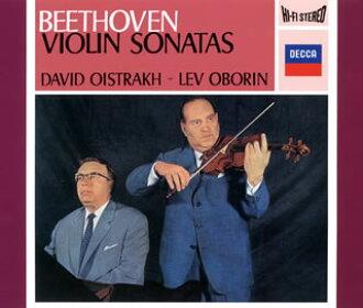 贝多芬:小提琴·奏鸣曲全集(全10首)oisutorafu(VN)Oborin(P)[CD][3张组]