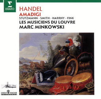 "Handel: Opera ""アマディージ of ガウラ"" Minkowski / Louvre shrine musical band Smith (S) シュトゥッツマン (A) et al. [CD] [Class two pieces]"