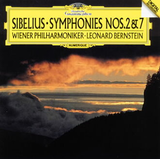 Sibelius:교향곡 제 2번・ 제7번 번스타인/ VPO[CD]