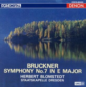 브룩크나:교향곡 제 7번 브롬슈텟트/드레스덴・슈타트카페레[CD]