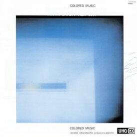 【国内盤CD】カラード・ミュージック / カラード・ミュージック【K2018/1/31発売】