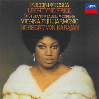 Puccini:가극 「트스카」카라얀/ VPO 빈 국립 가극장 cho. 프라이스(S) 디・스테파노(T) 외[CD][2 매 셋트]