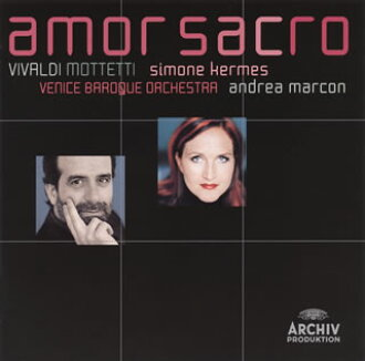 Amor サクロ (holy love) - Vivaldi: Collection of mottetto kermes (S) マルコン / Venice baroque orchestra [CD]