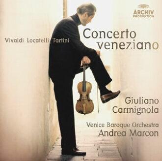 베네치아 협주곡집카르미뇨라(VN) 마르콘/베니스・바로크 o. [CD]