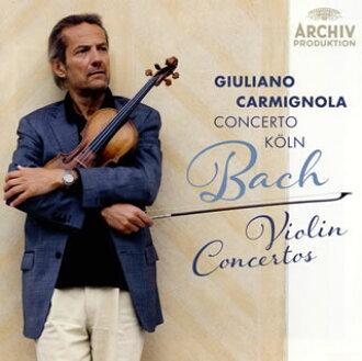 J.S.바흐:바이올린 협주곡집카르미뇨라(VN) 협주곡・쾰른[CD]