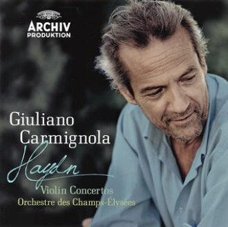 Haydn:바이올린 협주곡 카르미뇨라(VN) 샹젤리제 o. [CD]