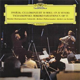 드보르자크:첼로 협주곡외 로스트 로포-비치(VC) 카라얀/ BPO[CD][첫회 출하 한정반]