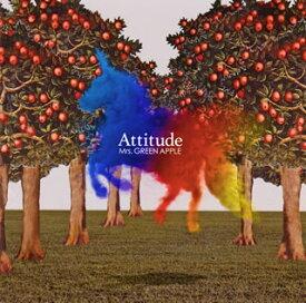 【国内盤CD】【ネコポス送料無料】Mrs.GREEN APPLE / Attitude 【J2019/10/2発売】