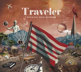 【国内盤CD】【ネコポス送料無料】Official髭男dism / Traveler [CD+BD][2枚組][初回出荷限定盤]【J2019/10/9発売】