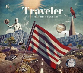 【国内盤CD】【ネコポス送料無料】Official髭男dism / Traveler 【J2019/10/9発売】