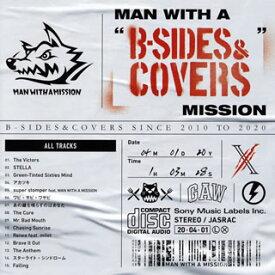 """【国内盤CD】MAN WITH A MISSION / MAN WITH A""""B-SIDES&COVERS""""MISSION【J2020/4/1 発売】"""