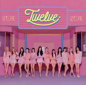 【国内盤CD】IZ*ONE / Twelve(Type A) [CD+DVD][2枚組]【J2020/10/21発売】