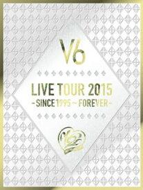 【国内盤DVD】【送料無料】V6 / LIVE TOUR 2015-SINCE 1995〜FOREVER-〈初回生産限定盤A・4枚組〉[4枚組][初回出荷限定]
