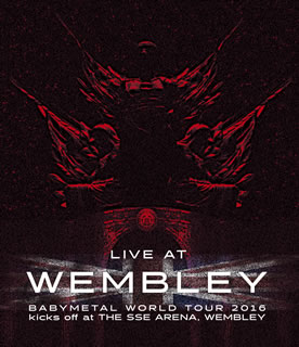 BABYMETAL / 「LIVE AT WEMBLEY ARENA」BABYMETAL WORLD TOUR 2016 kicks off at THE SSE ARENA WEMBLEY(2016.4.2)(ブルーレイ)【BM2016/11/23発売】【ステッカー付】【★】【割引中】