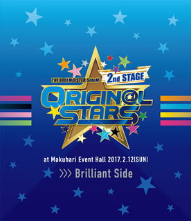 【送料無料】THE IDOLM@STER SideM 2nd STAGE〜ORIGIN@L STARS〜Live Blu-ray Brilliant Side〈2枚組〉(ブルーレイ)[2枚組]【BM2017/9/13発売】