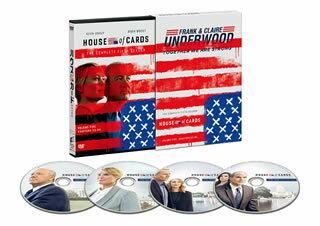 【送料無料】ハウス・オブ・カード 野望の階段 SEASON 5 Complete Package[DVD][4枚組]【D2017/10/4発売】