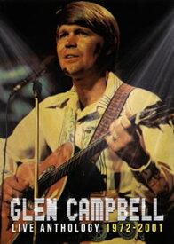 【国内盤DVD】グレン・キャンベル / ライヴ・アンソロジー 1972-2001【DM2017/11/22発売】