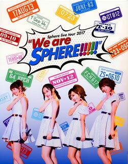 """【送料無料】スフィア / Sphere live tour 2017""""We are SPHERE!!!!!""""LIVE BD〈2枚組〉(ブルーレイ)[2枚組]【BM2018/3/21発売】"""