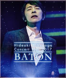 【送料無料】徳永英明 / Concert Tour 2017 BATON(ブルーレイ)【BM2018/3/28発売】