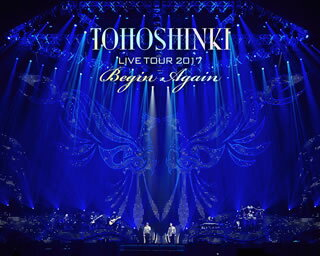 【送料無料】東方神起 / LIVE TOUR 2017〜Begin Again〜〈初回生産限定・2枚組〉(ブルーレイ)[2枚組][初回出荷限定]【BM2018/3/28発売】
