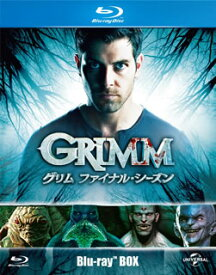 【国内盤ブルーレイ】 【送料無料】GRIMM グリム ファイナル・シーズン ブルーレイBOX[3枚組]【B2018/9/5発売】