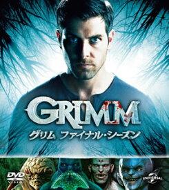 【国内盤DVD】GRIMM グリム ファイナル・シーズン バリューパック[4枚組]【D2019/11/7発売】