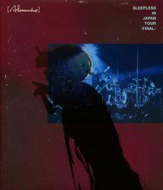 【国内盤ブルーレイ】[Alexandros] / Sleepless in Japan Tour-Final-〈2枚組〉[2枚組]【BM2020/4/1 発売】