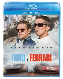 【国内盤ブルーレイ】フォードvsフェラーリ ブルーレイ+DVDセット [2枚組]【B2020/5/2発売】